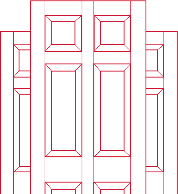 Doors with panels Door Illustration