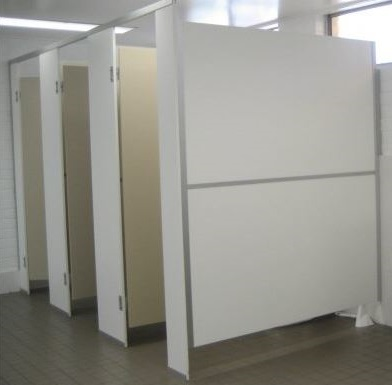 Restroom Partition Dividers for LDS Chapels and LDS Temples