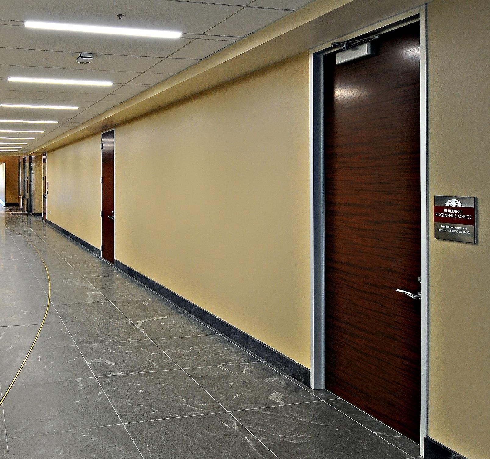 Plastic Laminate Wood Doors