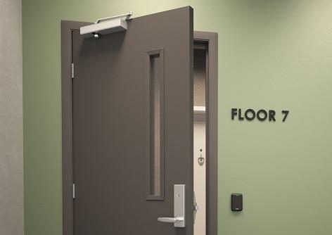 Door Closer Control Zones