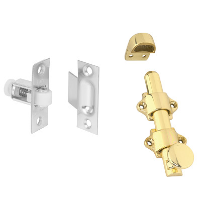 roller latch and dutch door bolt