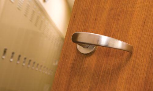 wood door core with lock & 4 Wood Door Core Types - Beacon