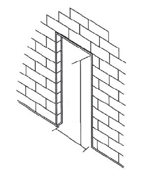 Reusing An Existing Frame Or An Existing Door - Beacon on