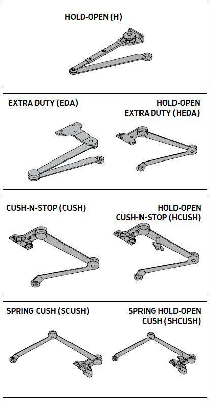 Closer Arms and Options