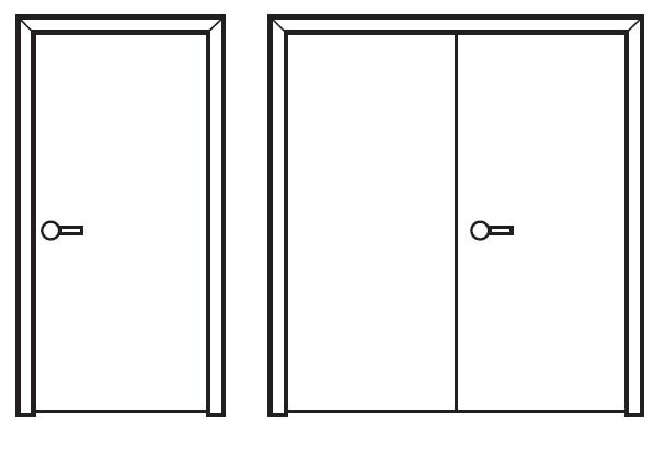 Single and Double Doors