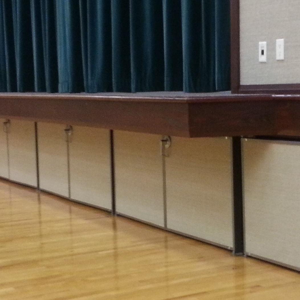 Understage Doors