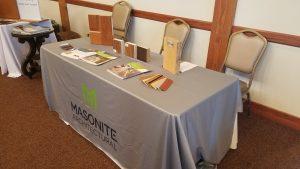 Masonite Table