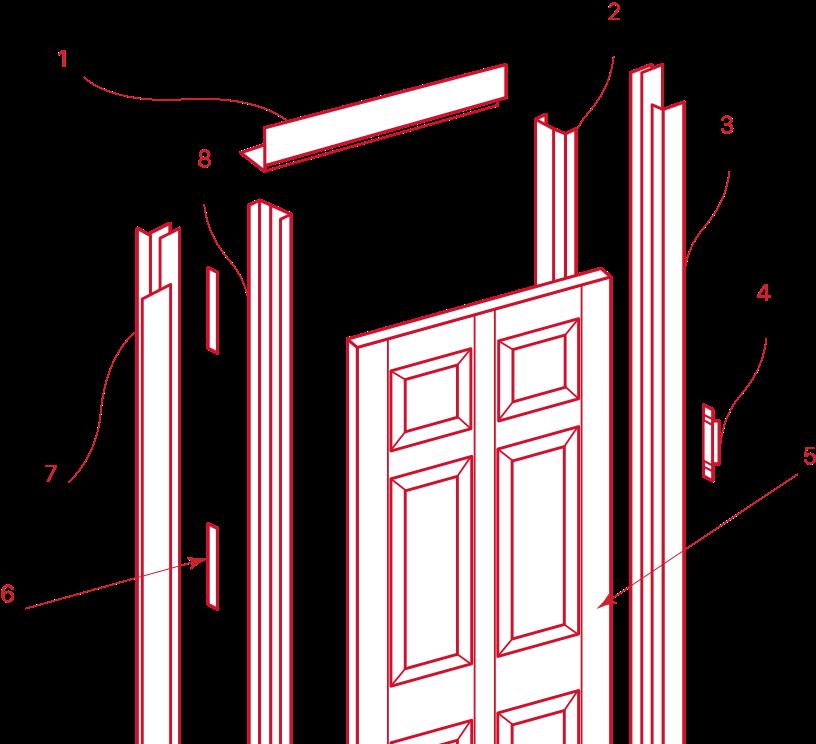 Door and Frame Diagram