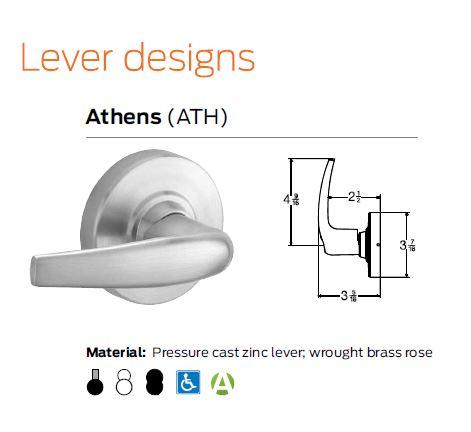 Lock Lever Designs