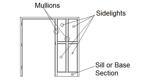 Sidelight Frame