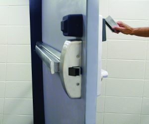 Exit Device with Keycard Trim