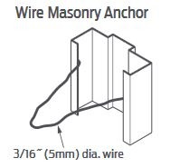 Steelcraft Wire Masonry Wall Anchor