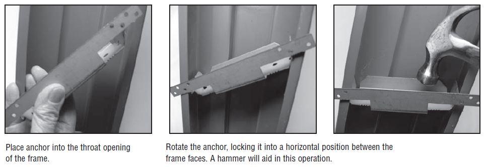 Universal Anchor Installation