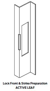 Z Astragal Prep Active Door