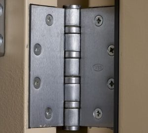 Installed Conventional Hinge