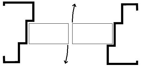 Double Egress profile with Door