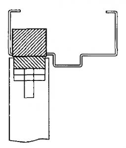 Concealed Shear lock