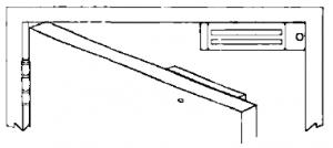 Single Door with Mag Lock